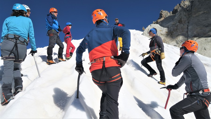 Stage d'initiation au cœur des glaciers du Parc National de la Vanoise - Alpinisme