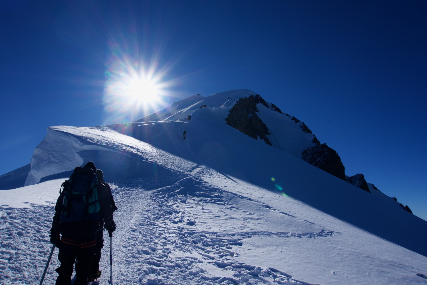 Mont Blanc ascent with preparatory workshop - classic route - 6 days