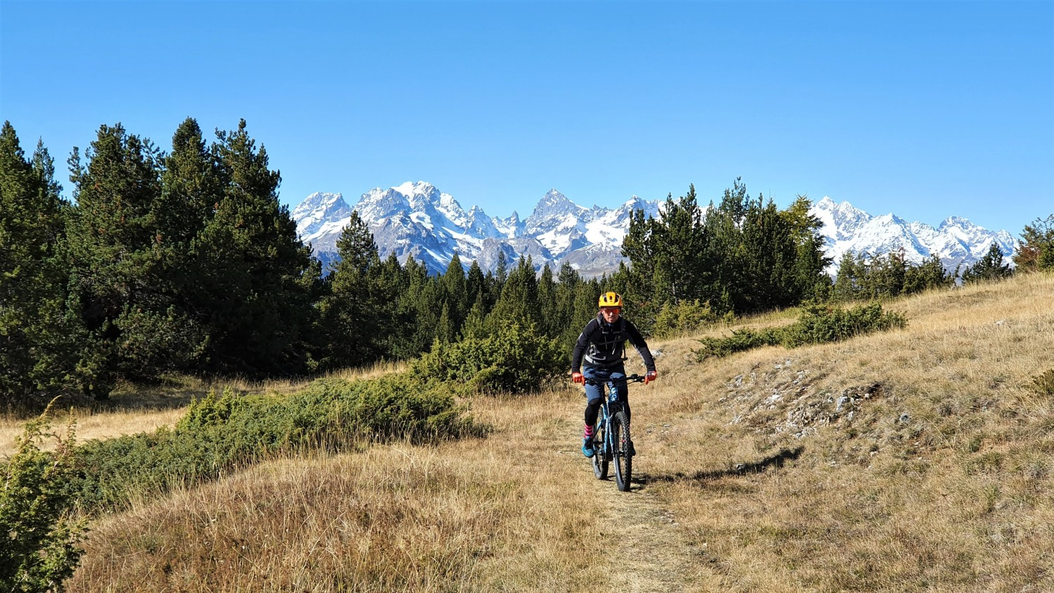 E-mountain biking - Discover the best spots of Serre Chevalier Valley