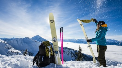 Discover ski touring in the French Alps - Azimut Ski Bike Mountain - www.azimut.ski