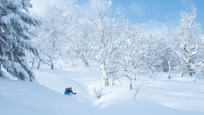 The Powder Trip - Elite Freeride skiing - Azimut Ski Bike Mountain - www.azimut.ski