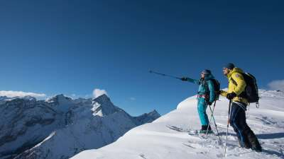 Great skitour Aravis - ski touring (all comfort) - Azimut Ski Bike Mountain - www.azimut.ski