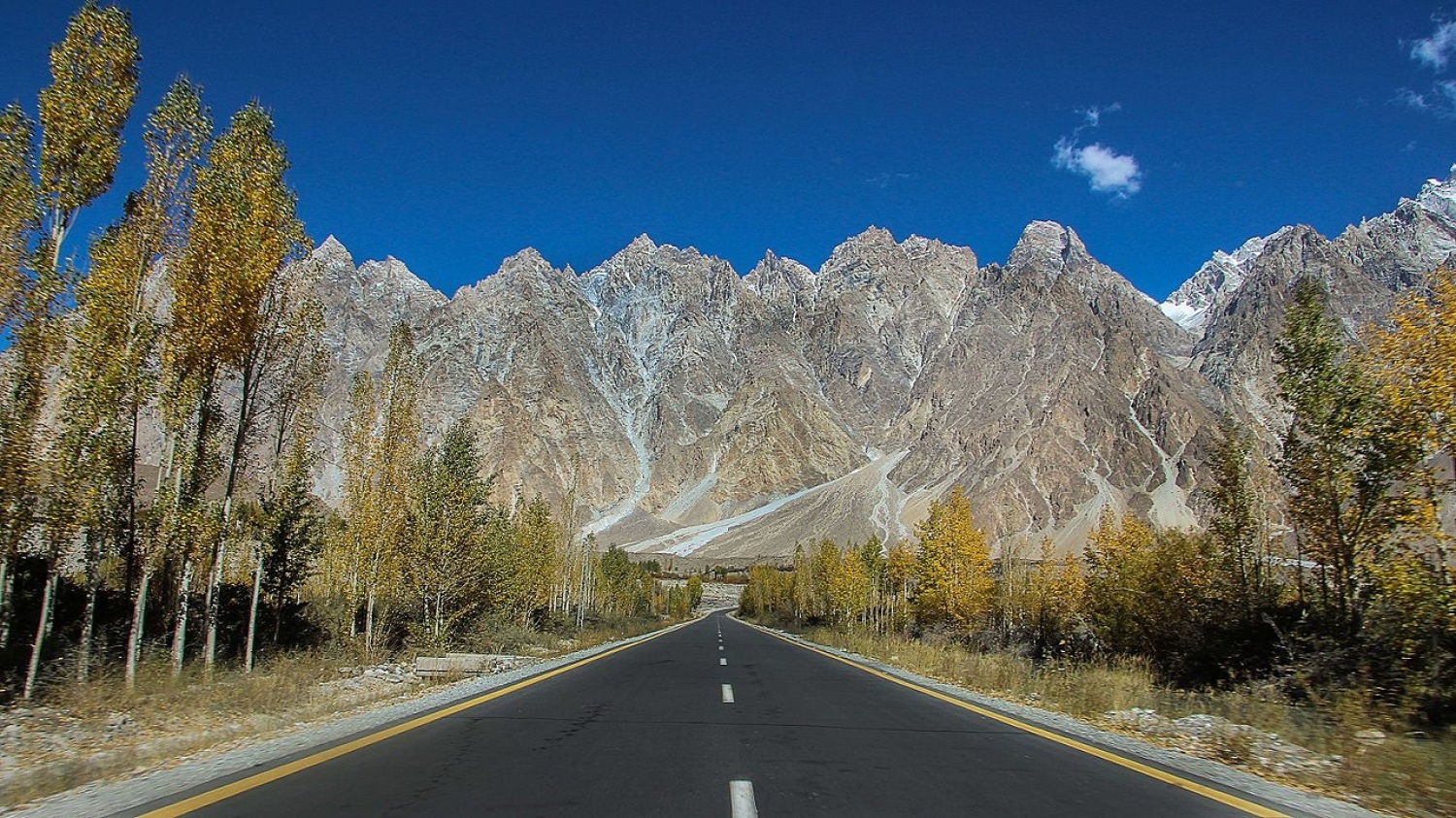 Pakistan the best of  Silk road Gravel Bike - road bike trip on karakoram highway
