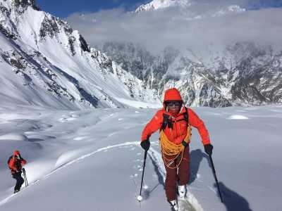 Ski touring in Karakoram - Pakistan - Azimut Ski Bike Mountain - www.azimut.ski