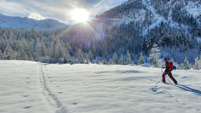 Découverte du ski rando au Col d'Izoard