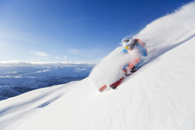 Let's learn freeride skiing - Sestriere - Italy - Azimut Ski Bike Mountain - www.azimut.ski