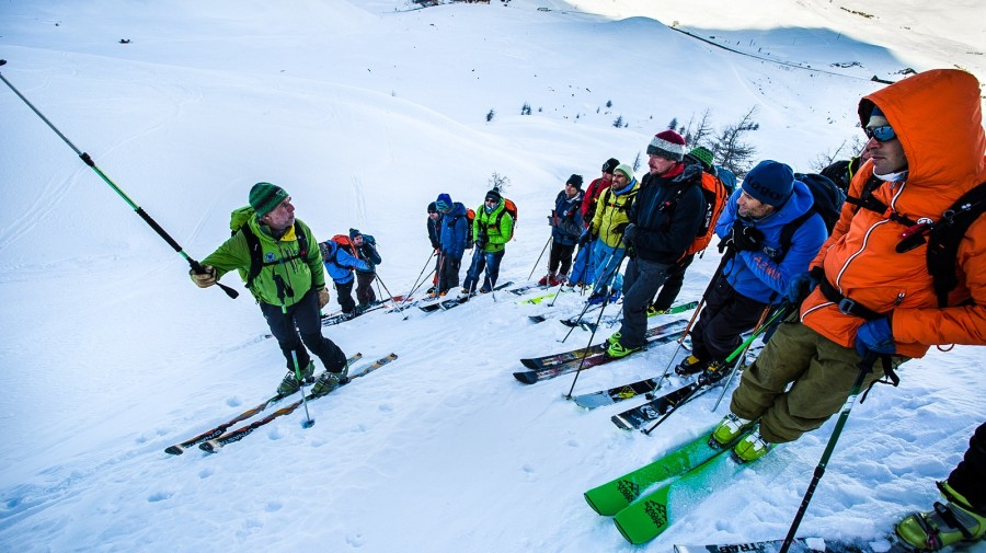 Levels for ski touring and freeride