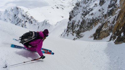 La Grave Couloirs - Week end ski freeride - ski Elite - Azimut Ski Bike Mountain - www.azimut.ski