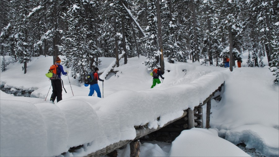Discover ski touring in the French Alps