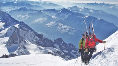 Mont Blanc Ascent - Ski Touring - Azimut Ski Bike Mountain - www.azimut.ski