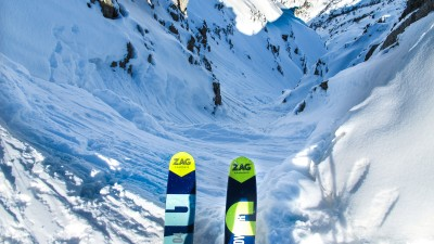 Gressoney Monterosa - Elite Freeride skiing - Azimut Ski Bike Mountain - www.azimut.ski