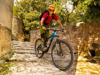 VTT Enduro - Bike Safari with shuttles in the Ligurian Alps - Azimut Ski Bike Mountain - www.azimut.ski
